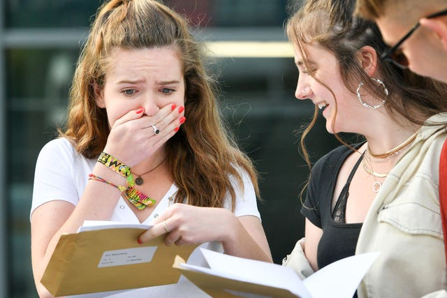 Hannah Millward opens her results