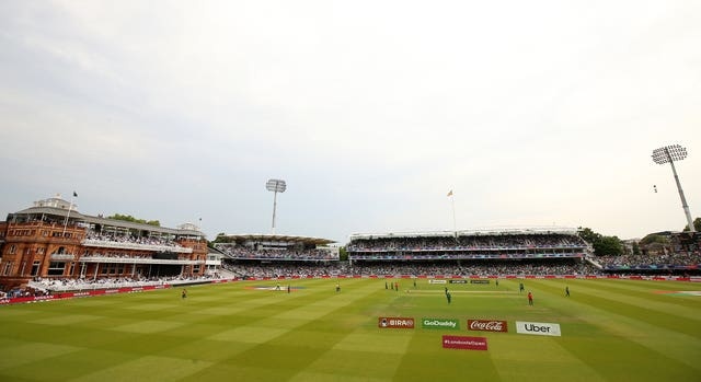 Lord's has not been a happy hunting ground for England recently (Nigel French/PA)