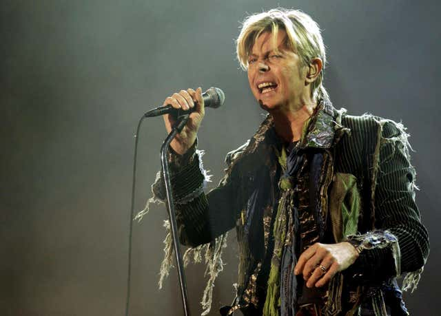 A rare handwritten letter by David Bowie is expected to fetch £6,000 at auction. (