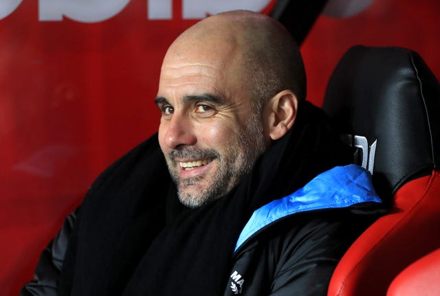 Will Manchester City boss Pep Guardiola be all smiles again in the FA Cup this weekend?