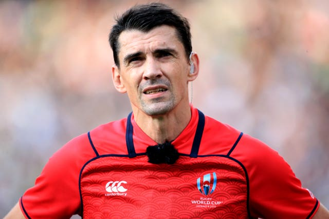 Referee Pascal Gauzere awarded two disputed tries to Wales