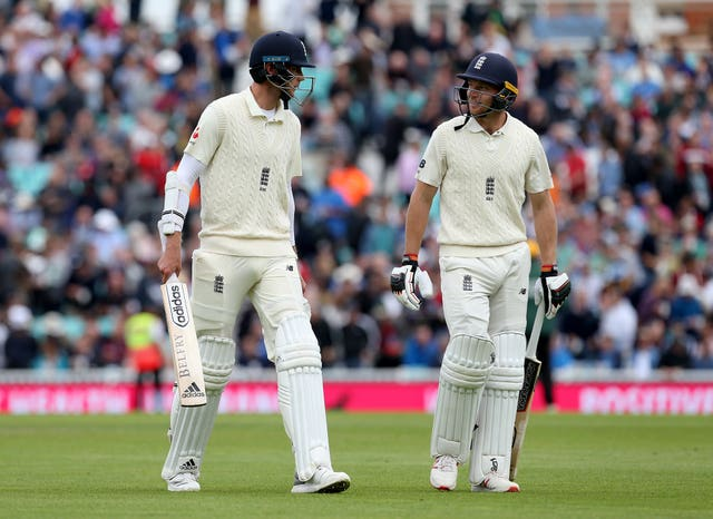 Jos Buttler, right, admitted he was initially daunted at sharing a dressing room among established England performers such as Stuart Broad (Steven Paston/PA)
