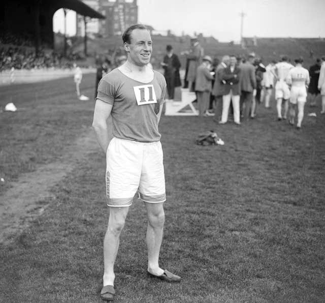 Eric Liddell was due to compete in the 100m, but as a committed Christian he refused to run on a Sunday