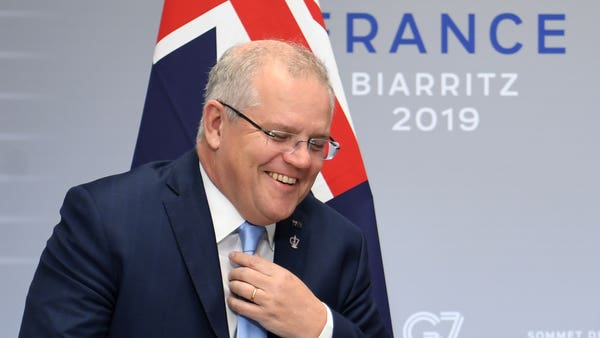 Australian leader says US-China war no longer inconceivable