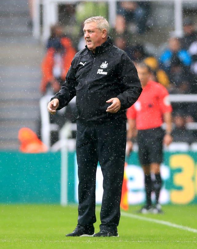Steve Bruce replaced Rafael Benitez on Tyneside