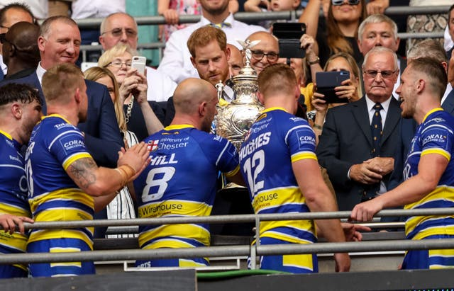 St Helens v Warrington Wolves – Coral Challenge Cup – Final – Wembley Stadium