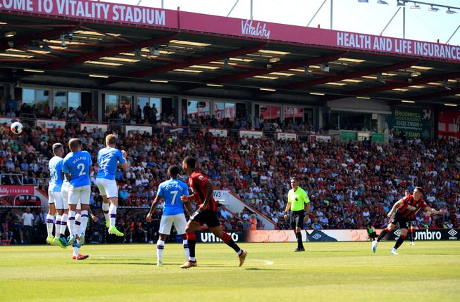 Harry Wilson steered home a superb free-kick to give Bournemouth hope