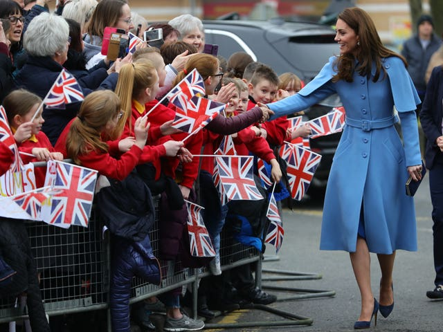 Duke and Duchess of Cambridge visit to NI – Day 2