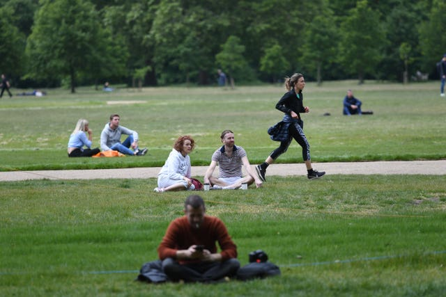People also visited Hyde Park to exercise and relax