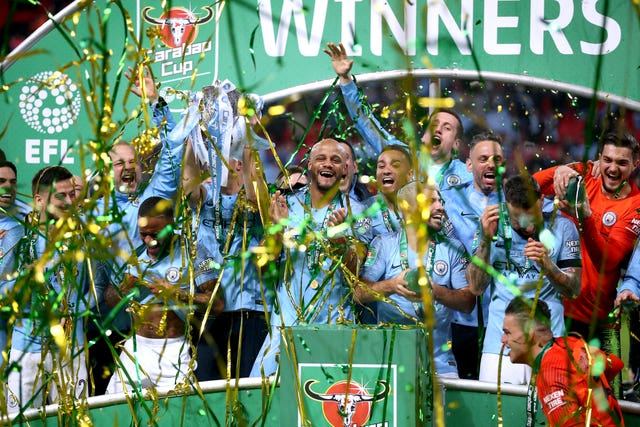 Manchester City have already won the Carabao Cup this season