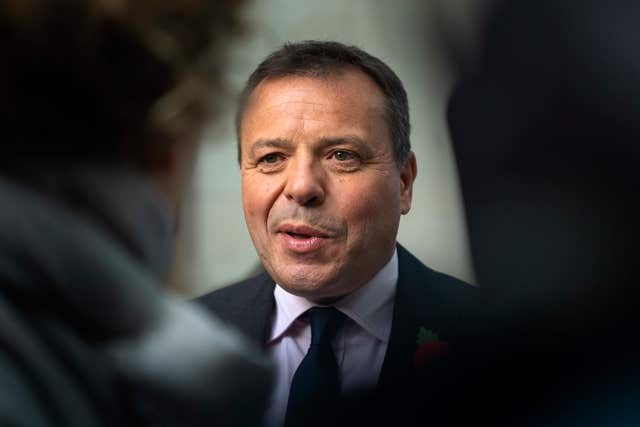 Leave campaigner Arron Banks reportedly spent around £450,000 on Mr Farage on the year following the referendum (PA/Victoria Jones)