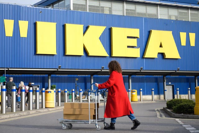 The Ikea Store in Wembley