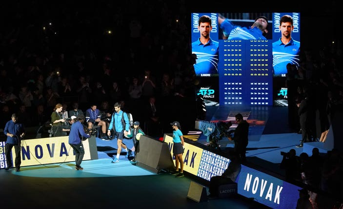 Nitto ATP Finals – Day One – The O2 Arena