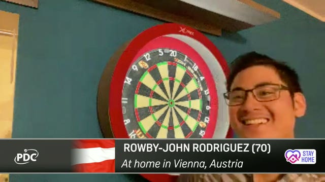 Rowby-John Rodriguez had to be given special dispensation by his neighbours to play beyond 8pm in Vienna