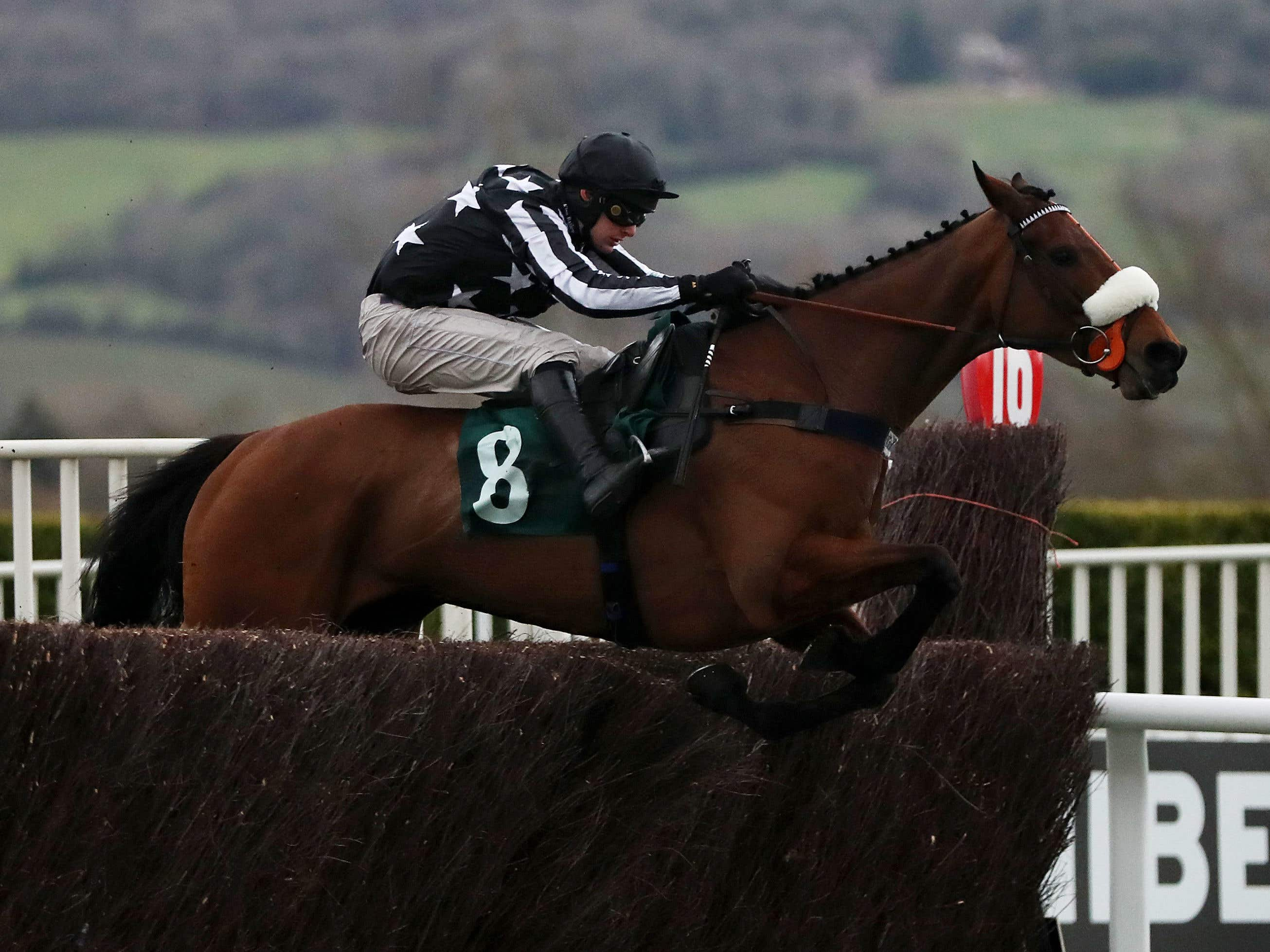 Imperial Aura won at the Festival in March (Simon Cooper/PA)