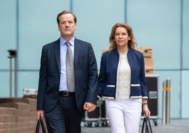 Charlie and Natalie Elphicke,