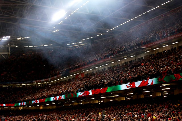 Scotland's trip to the  Principality Stadium in Cardiff was postponed