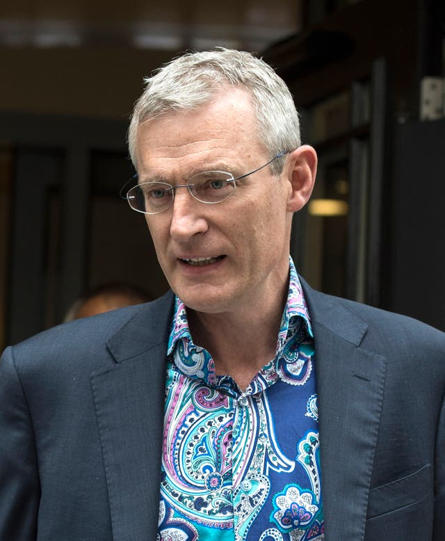 Radio 2 presenter Jeremy Vine (Lauren Hurley/PA)