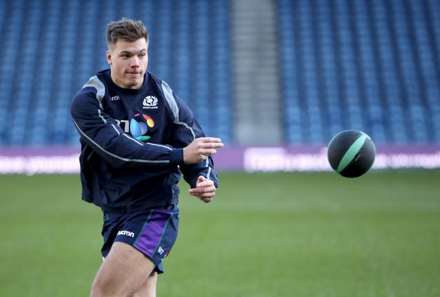 Huw Jones missed out on selection