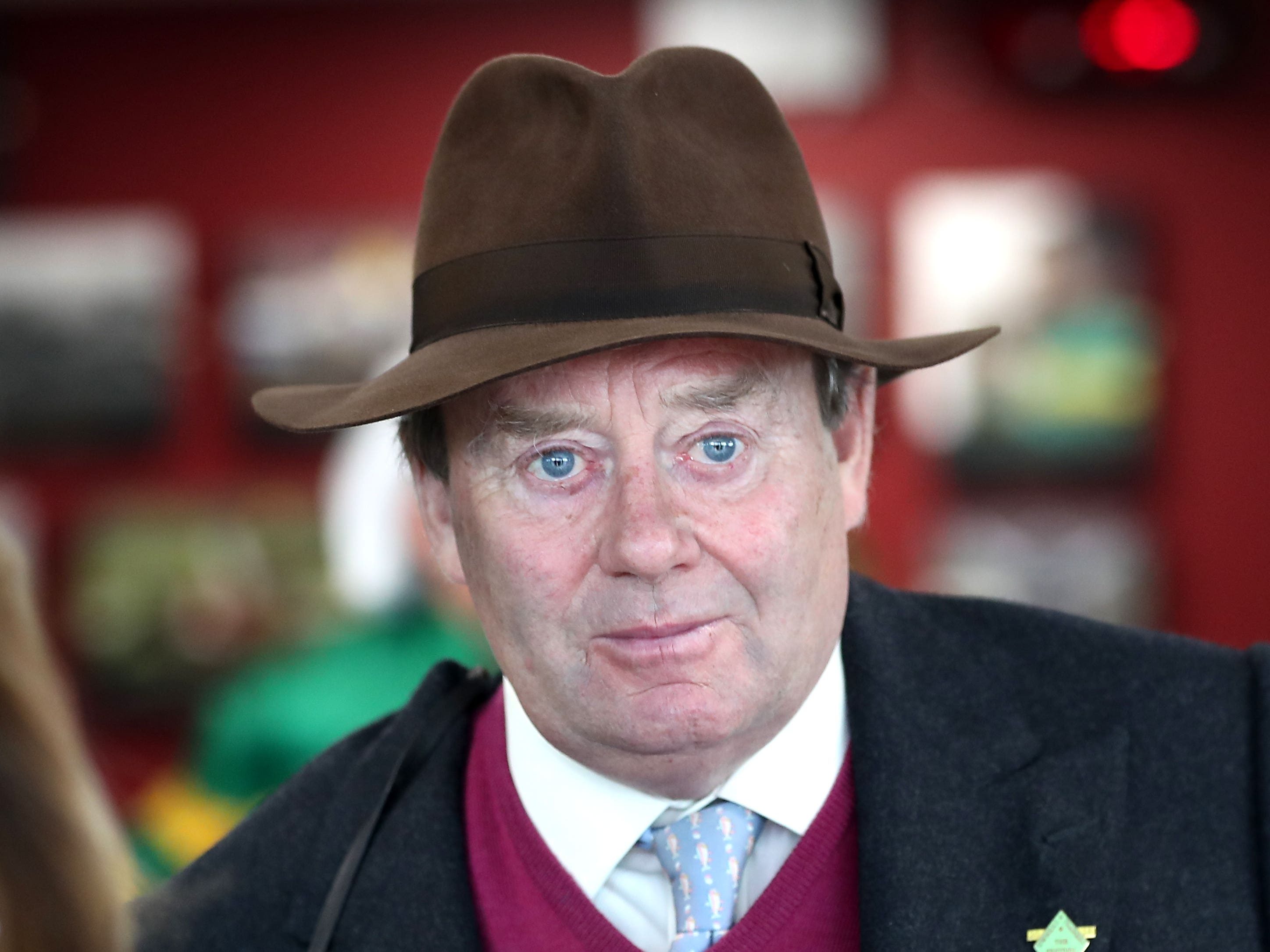 Nicky Henderson is readying his big guns (David Davies/PA)