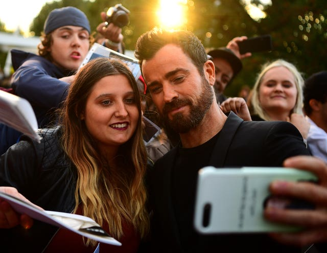 Justin Theroux at Maniac World Premiere