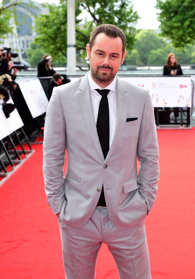 Danny Dyer on the red carpet