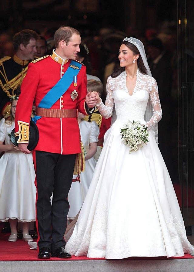 Duke and Duchess of Cambridge 10th wedding anniversary