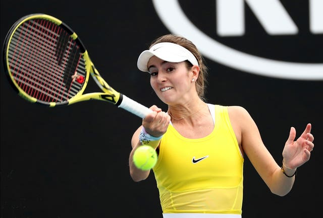 Bellis was told she may never play tennis again