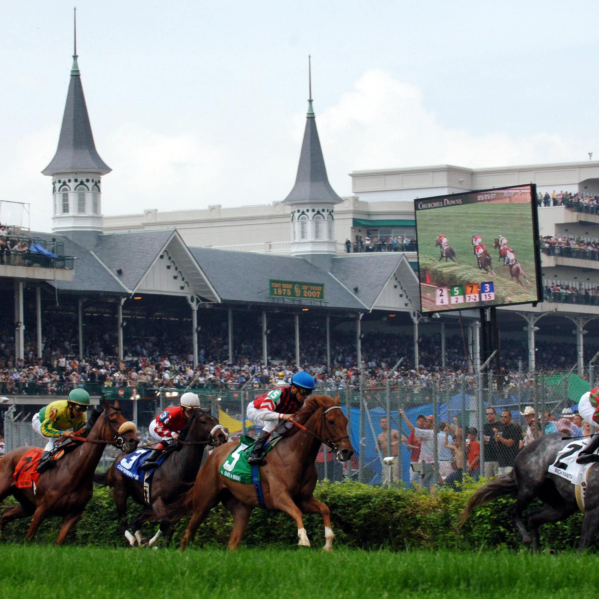 The Breeders' Cup is back at Churchill Downs this year