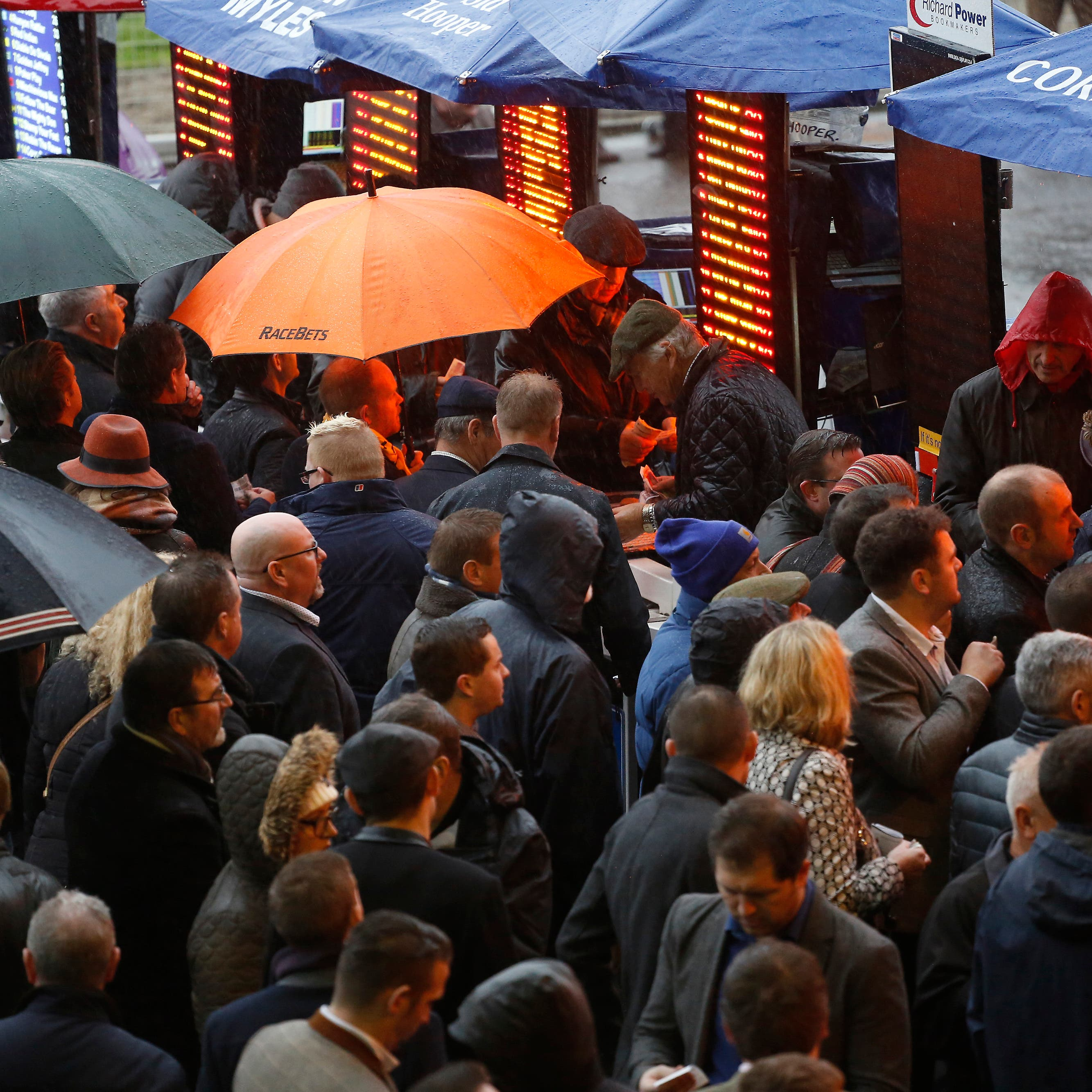 Bookmakers were on the receiving end on day two of the Cheltenham Festival