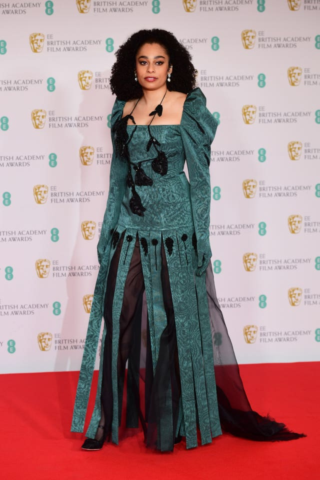 Celeste at the BAFTA Awards 2021
