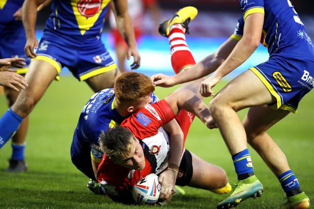 James Greenwood was among the scorers as Salford fought for cup final glory