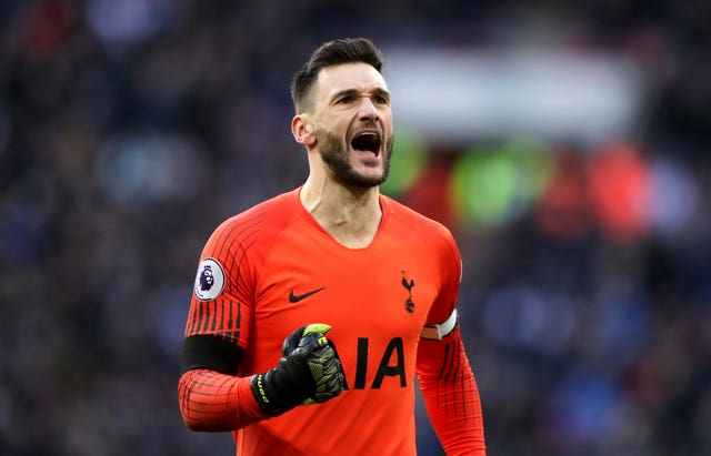 Hugo Lloris played a key role in Spurs' win over Leicester on Sunday