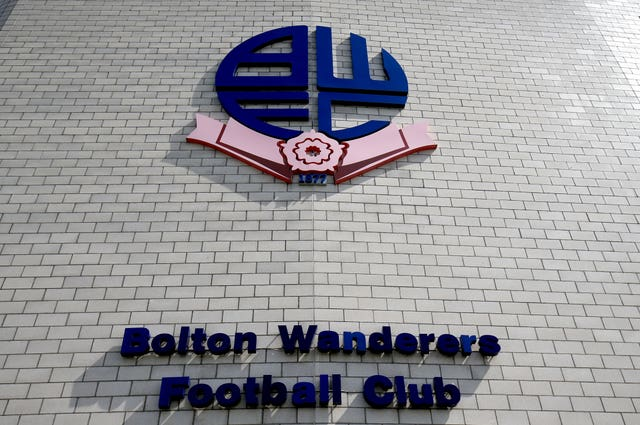 Bolton are second bottom of the Championship