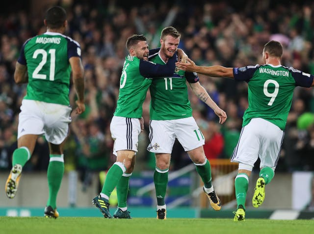 Northern Ireland v Czech Republic – 2018 FIFA World Cup Qualifying – Group C – Windsor Park