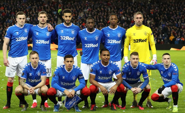 The Rangers team have come together to help their colleagues
