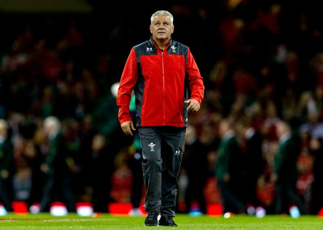 Warren Gatland said his thoughts are with Thomas