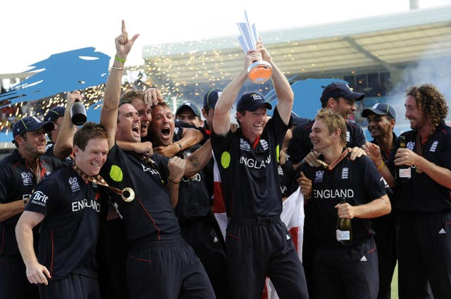 Pietersen helped England win the World T20 in 2010