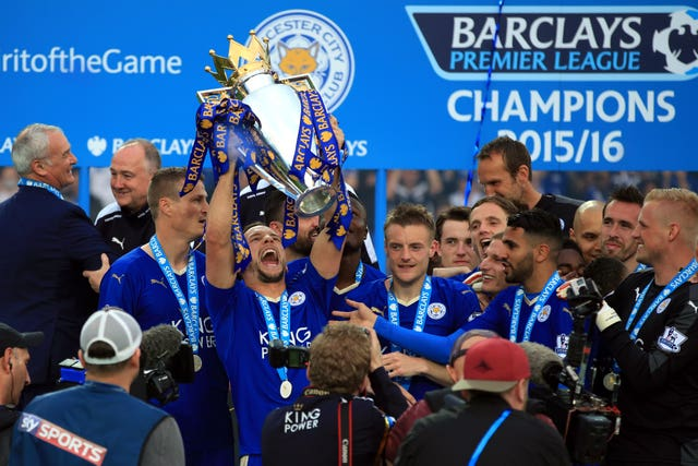 Drinkwater won the Premier League with Leicester