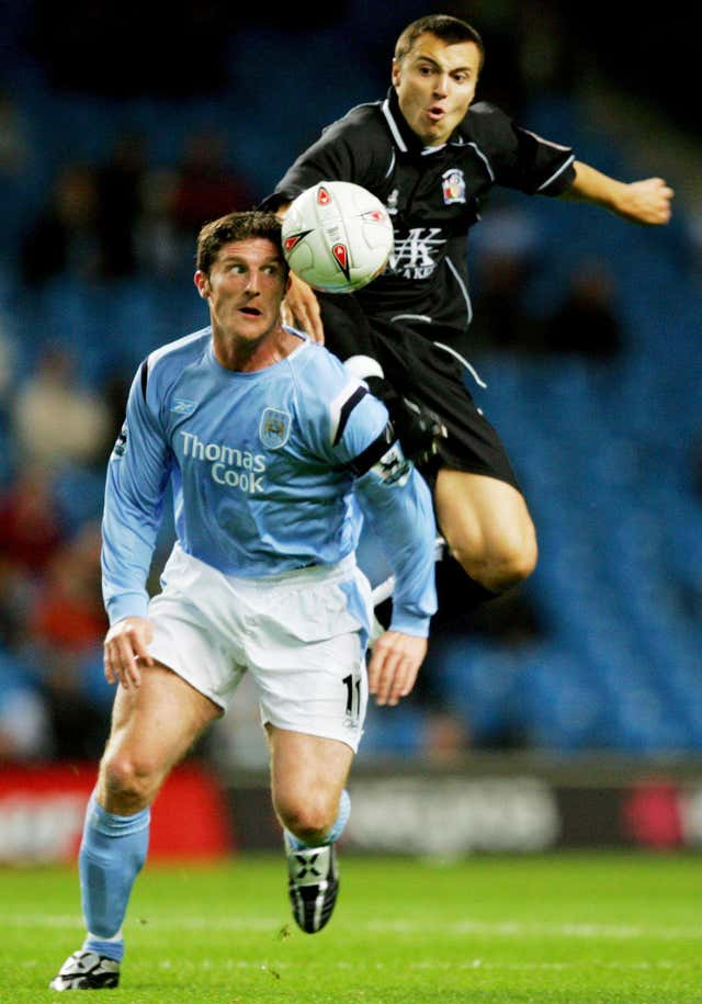 Jon Macken (left) thinks City will still attract top player