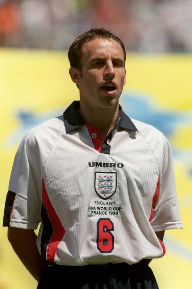 Gareth Southgate went to France 98 as a player