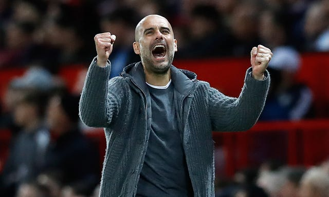 Pep Guardiola's Manchester City were 2-0 winners at Old Trafford