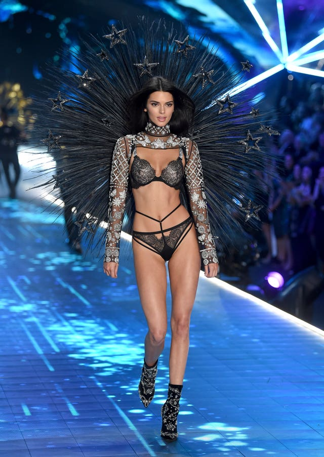 15eae4a7bc Kendall Jenner walks the runway during the 2018 Victoria s Secret Fashion  Show (Evan Agostini Invision AP)