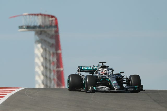 Lewis Hamilton showed his pace in second practice