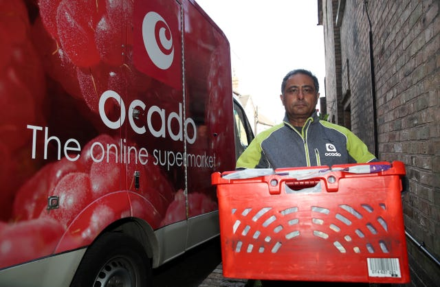 Online supermarket Ocado has performed well in the first six months of the year