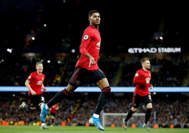 Marcus Rashford was on the scoresheet in December's Premier League win for Manchester United