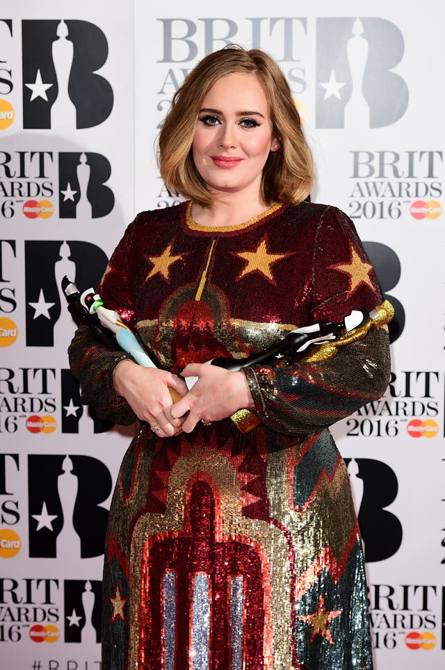Brit Awards 2016 – Press Room – London