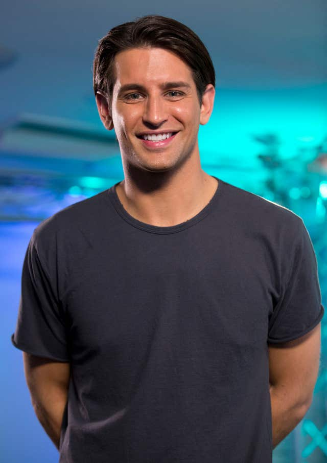 Made In Chelsea star Ollie Locke at an event