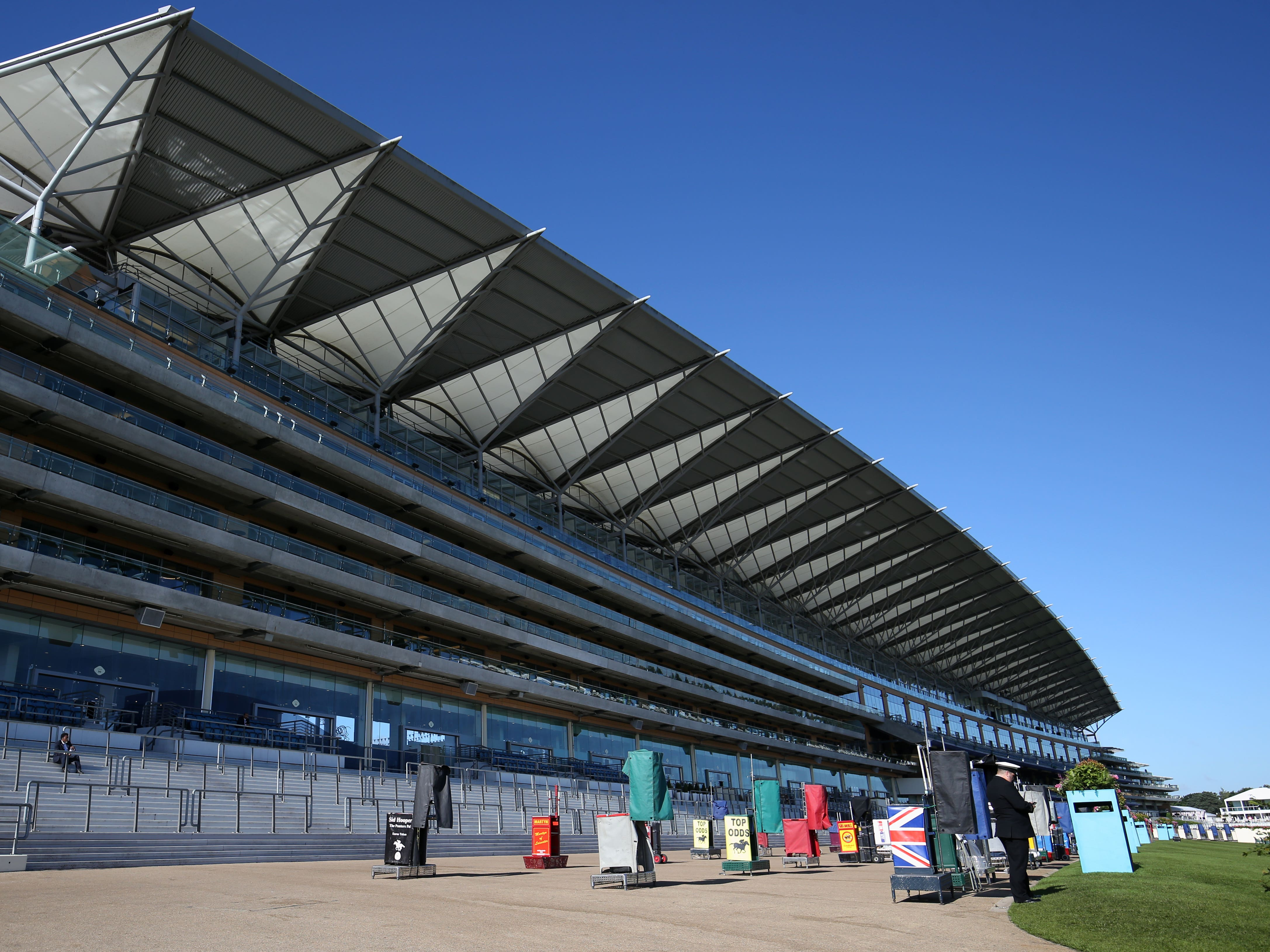 Ascot will hold a morning inspection because of forecast high winds on Saturday (Jonathan Brady/PA)