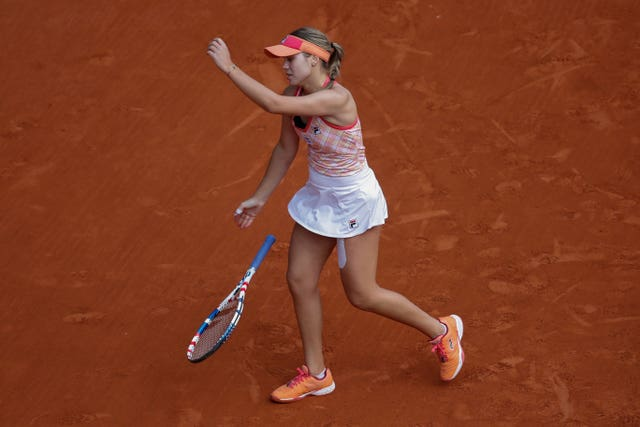 Sofia Kenin could find no answer to the brilliance of Iga Swiatek